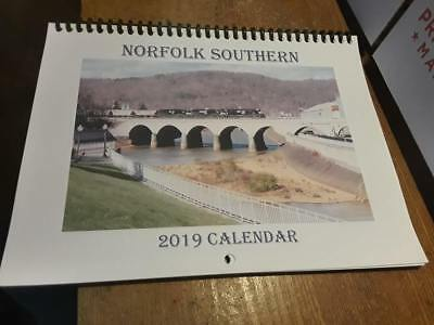 Norfolk Southern Railroad Calendar 2019 - New! - Free Shipping!