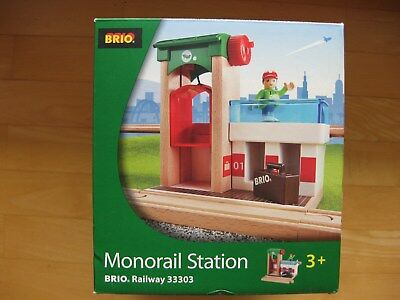BRIO Monorail Station / Bahnhof Railway 33303