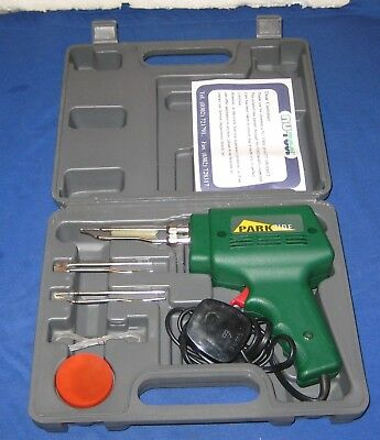 Parkside Soldering Gun Kit In Carry Case