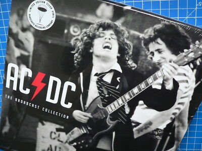 The AC/DC Broadcast Collection CLEAR Vinyl 3LP Box - 2016 UK Original OVP sealed