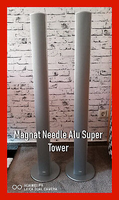 Magnat Needle Alu Super Tower in Silber TOP OVP