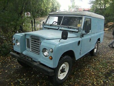 "Land Rover, 1974, S111 109"" - - 2 1/4 Petrol With Overdrive"