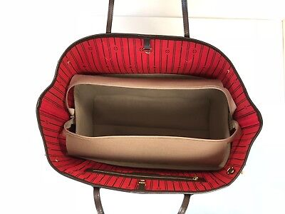 Neverfull Gm  With Or Without Zip Top Luxury Liner Organiser Handbag Angels Uk