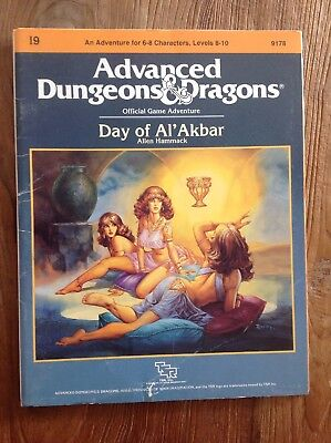 Ad&d Dungeons and Dragons Module I9 - Day of Al'Akbar