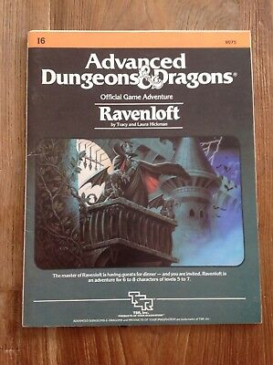 Ad&d Dungeons and Dragons Module I6 - Ravenloft !