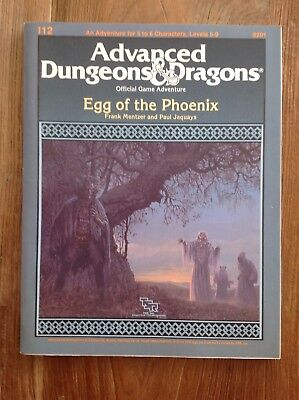 Ad&d Dungeons and Dragons Module I12 - Egg of the Phoenix !