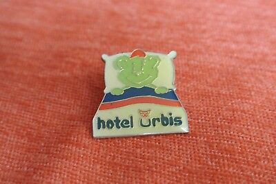 17969 Pins Pin's Hotel Urbis Bear Ours Chouette Owl