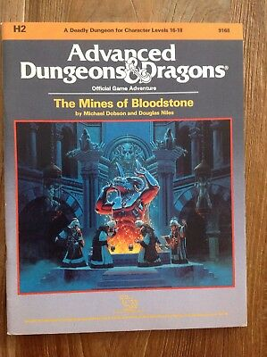 Ad&d Dungeons and Dragons Module H2 - The Mines of Bloodstone