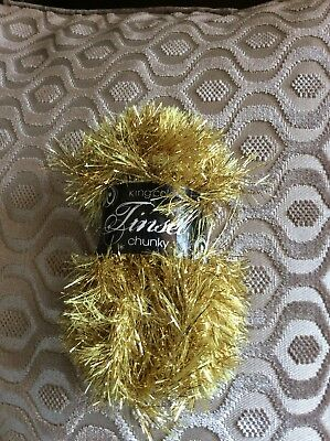 50g Ball Of King Cole Tinsel Chunky Wool