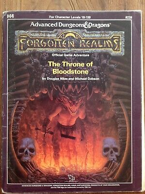Ad&d Dungeons and Dragons Module H4 - The Throne of Bloodstone