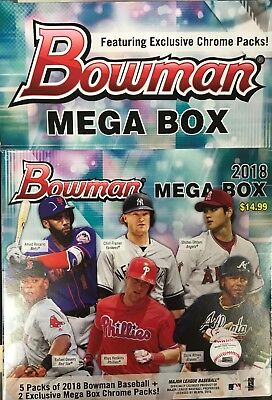 2018 Bowman Mega Box Mojo Chrome Refractor RC Rookies Singles - You Pick Them
