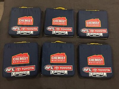 AFL 2017 Grand Final Seat Cushions Adelaide V Richmond NOW POSTING