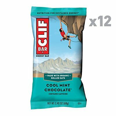 Clif Energy Bars (12 Count|Chocolate menta fresca)