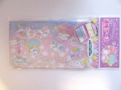 SANRIO JAPAN Little Twin Stars Bank Book Case Card Case From Japan Free Shipping