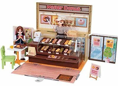 Takara Tomy Doll playhouse toy set Licca chan Mister Donut shop toy japan
