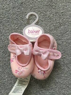 Ted baker Baby Girl 0-3 Shoes BNWT