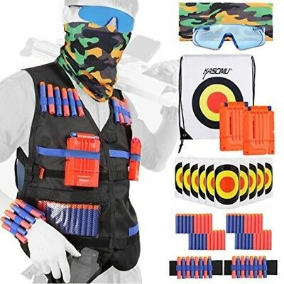 Tactical Vest Kit for Nerf Guns N-strike Elite Series - Best Nerf Gun Accessorie