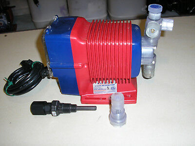 Iwaki walchem EWB16F1-VE ( injection quill and foot valve included ) pump works
