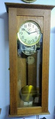 Aron electric Master Clock with Programmer, not Synchronome or Gents.