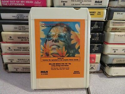 MELLOW MOODS FOR THE 70'S Living Strings & Voices (8-Track Tape)