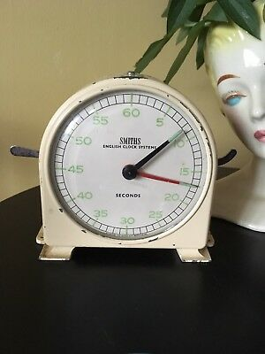 Vintage Smiths English Clock System (Minutes & Seconds Process Timer) 30s MIB