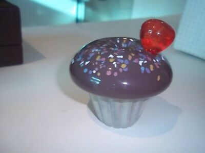 Caithness Paperweight - Cupcakes - Chocolate