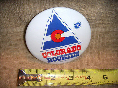 Vintage Colorado Rockies Pin Back Buttons