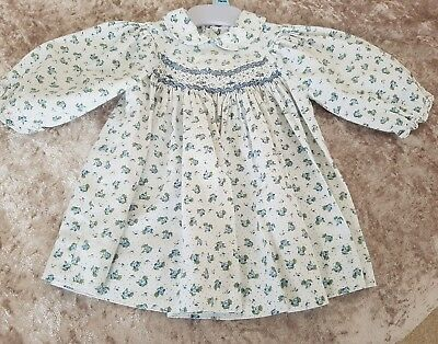 Girls Vintage Heskia Dress 3-6 mos