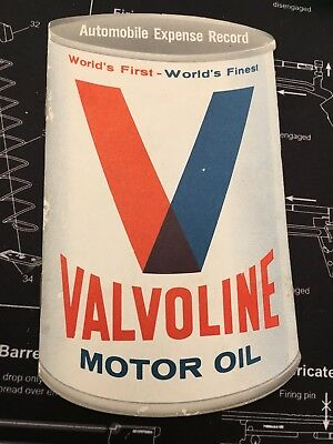 Vintage Valvoline Record Book w Scofield & Sons of Newark, NY Stamp