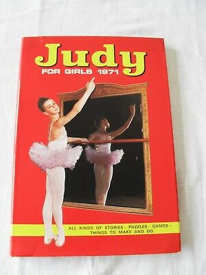 Judy For Girls 1971 Annual