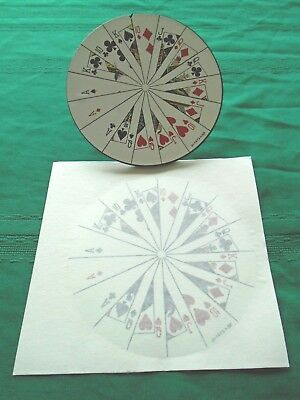 Jokerz~Backbox Spinning Wheel & New Decal~Nos~Williams Pinball~Part # 09-8161