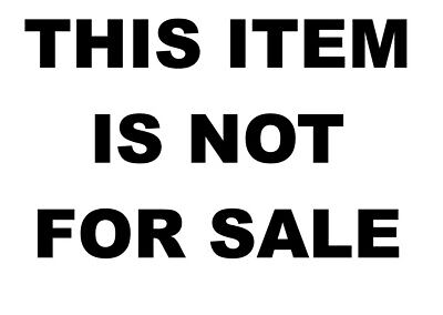 This item is no longer for sale