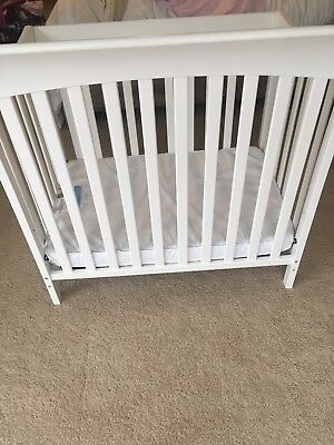Child Craft Coventry Compact size crib White (Local pick up Only) Preowned