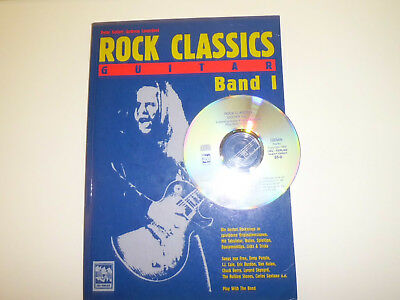 Rock Classics Guitar, Vol.1 Play Along-Songbook mit CD