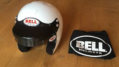 Rallye Jet-Helm Bell MAG-1 mit H.A.N.S.-Clips, Gr. 57-58 SML, FIA 8858-2010