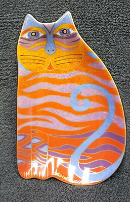 Laurel Burch Cat figure Plate  2007 Wine Things Sonoma CA Collectable RETIRED