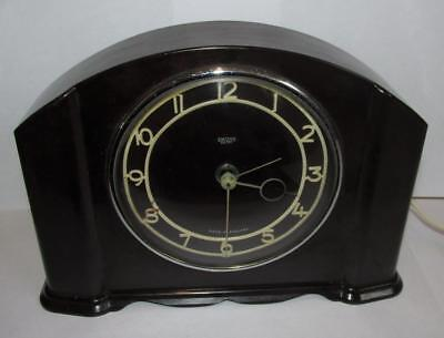 Vintage / Retro Smiths Bakelite Electric Clock - For Spares / Repair