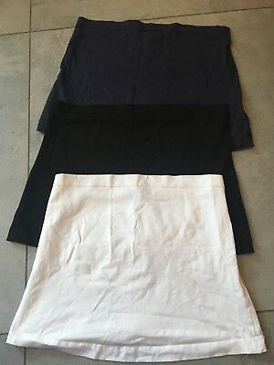 New Look Maternity Bump Bands Navy Black White Size Small/Medium