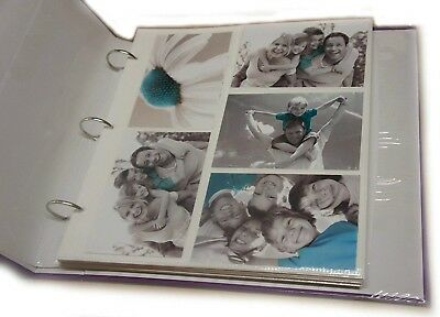 Photo Album Refill Page Sheet Holds 6x4 200 Large Ringbinder (20pcs)