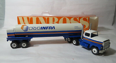 "MIB Winross 1/64 ""Cryo-Infra"" Truck & Tanker Collectible FIND! Orig. Collectible"