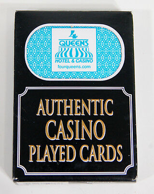1 Deck Authentic Played Cards from Queens Casino Las Vegas, Nevada