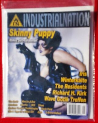 Goth Magazine Industrial Nation 21. Iris WInterkalte The Residents and more