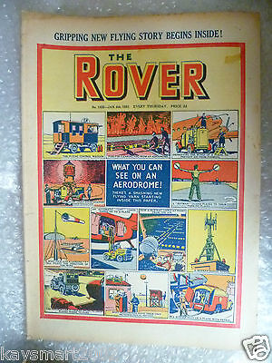 THE ROVER Comic, No.1332,6th Jan 1951
