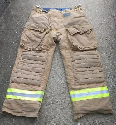 Morning Pride Firemans Turnout  Bunker Pants Gear 42/34 Globe Fire Dex Securitex