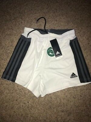 Adidas Women's Morona soccer shorts White, Black, and grey size XS NWT