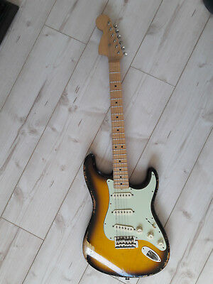 MJT Warmoth STRATOCASTER Seymour Duncan SSL 1 pups