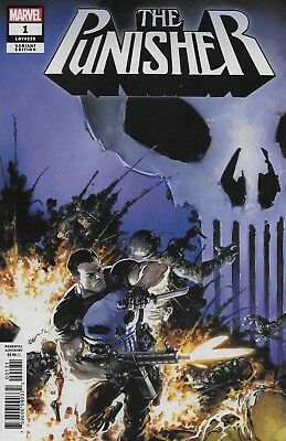 Marvel The Punisher #1 Variant Incentive Cover by Clayton Crain 1:25 Comic