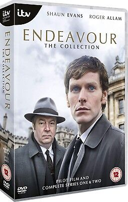 Endeavour The Collection: Pilot Film and Complete Series 1 & 2 | 5-Disc DVD NEW