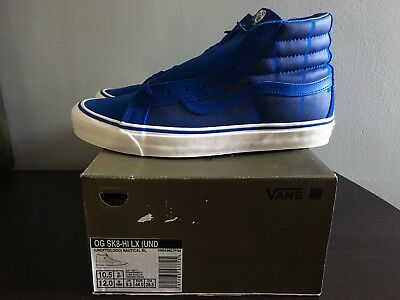 26dd57abcc0 UNDEFEATED X VANS Sk8 Hi LX - Safety Blue Size 10.5 -  59.99