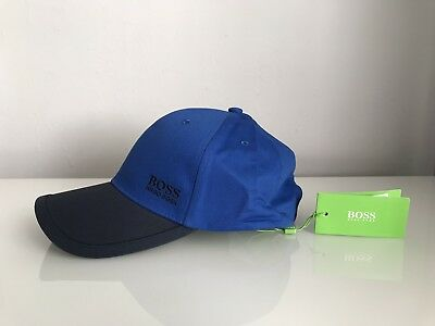 f1d62a169f8 HUGO BOSS LOGO Baseball Cap 14 In Roya Bluel Navy Size One RRP £45 - £29.99